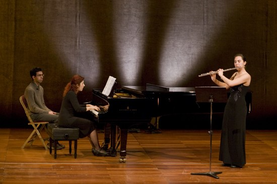 Recital, piano e flauta