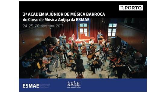 3ª Academia Júnior de Música Barroca