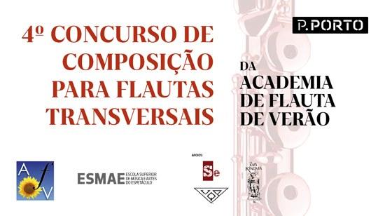 4º Concurso de Composição para Flautas Transversais